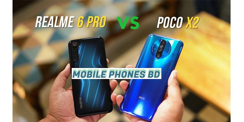 Xiaomi Poco X2 vs Realme 6 Pro