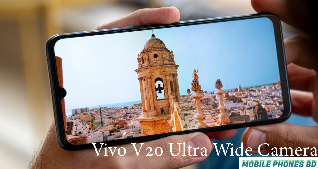 Vivo V20 Ultra Wide-Angle Camera