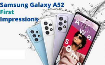 Samsung Galaxy A52 First Impressions